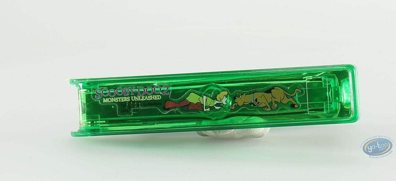 Fourniture bureau, Scooby-Doo : Petite agrafeuse Scooby Doo verte
