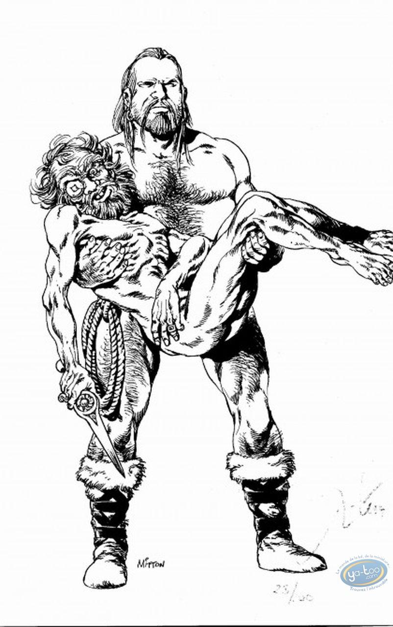 Ex-libris Offset, Vae Victis : 2 barbares