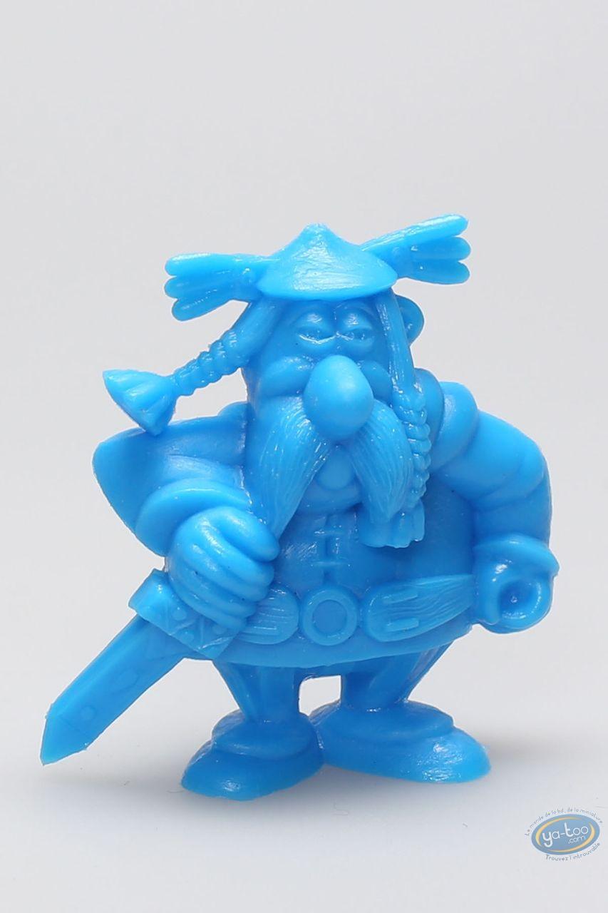 Figurine plastique, Astérix : Mini Abraracourcix (bleu)