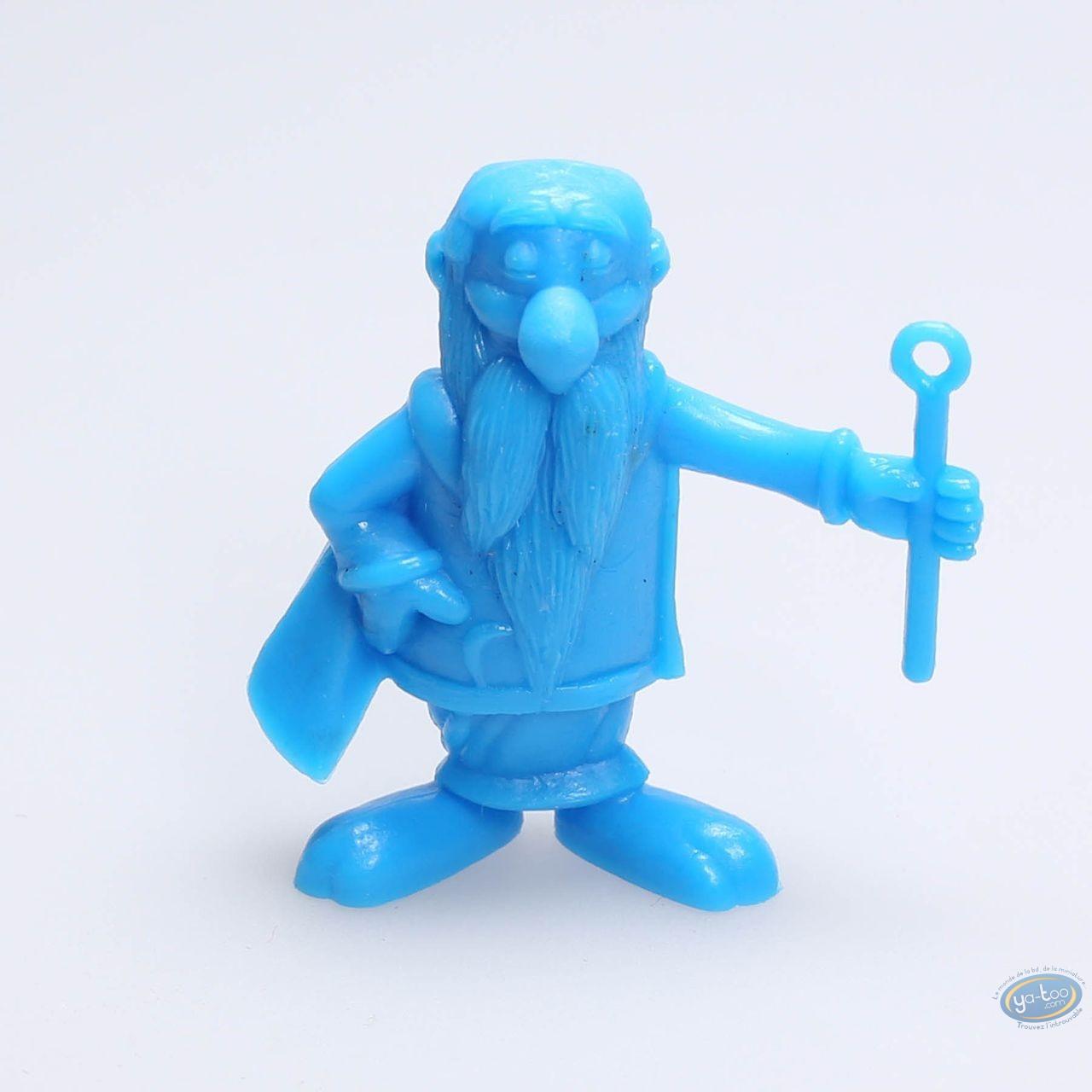 Figurine plastique, Astérix : Mini Panoramix (bleu)