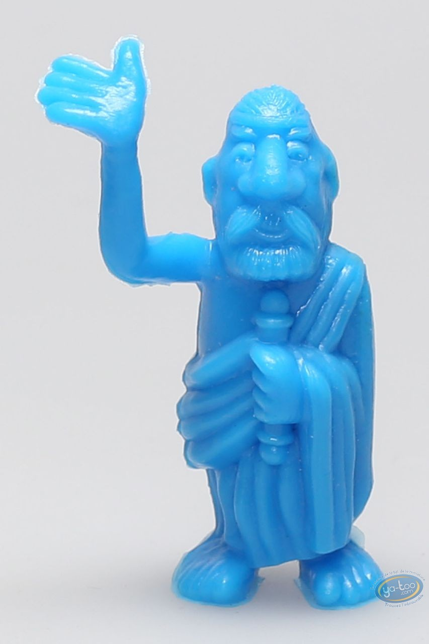 Figurine plastique, Astérix : Mini Croquemithène saluant de la main (bleu)