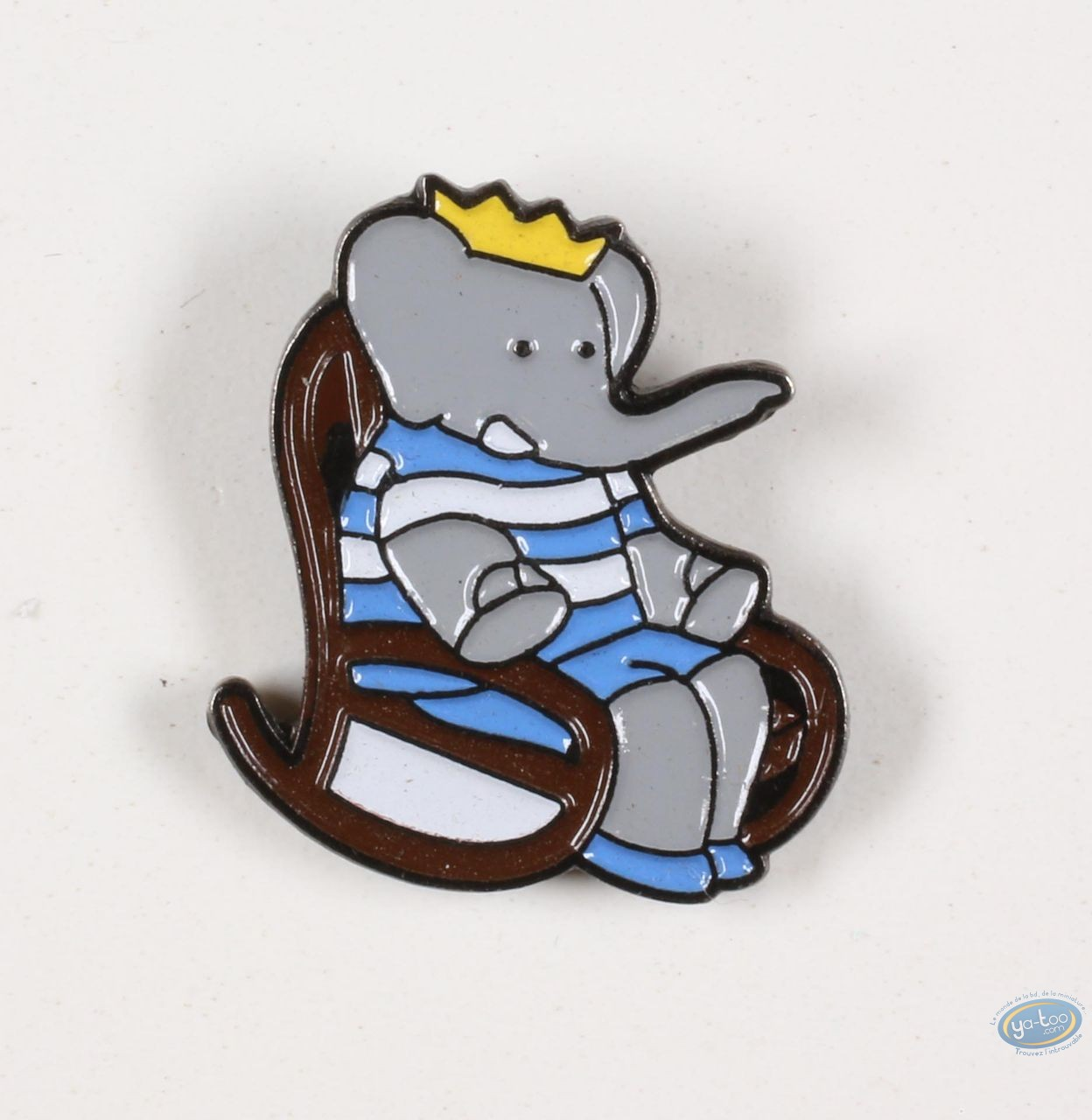 Pin's, Babar : Babar dans son rocking chair