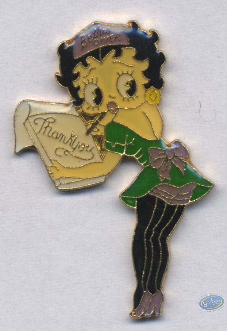 Pin's, Betty Boop : Serveuse