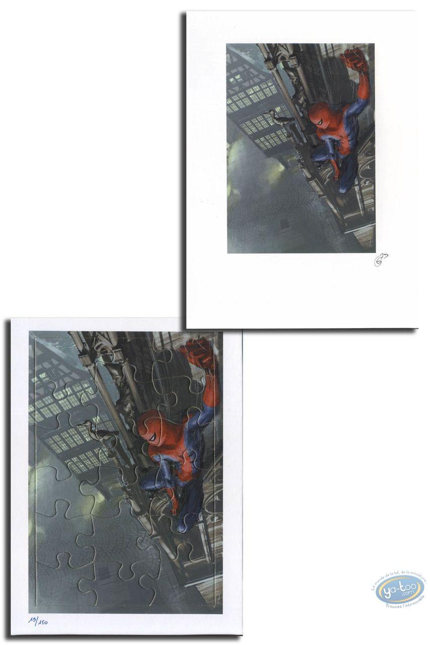 Ex-libris Offset, Spiderman : Spiderman (puzzle)