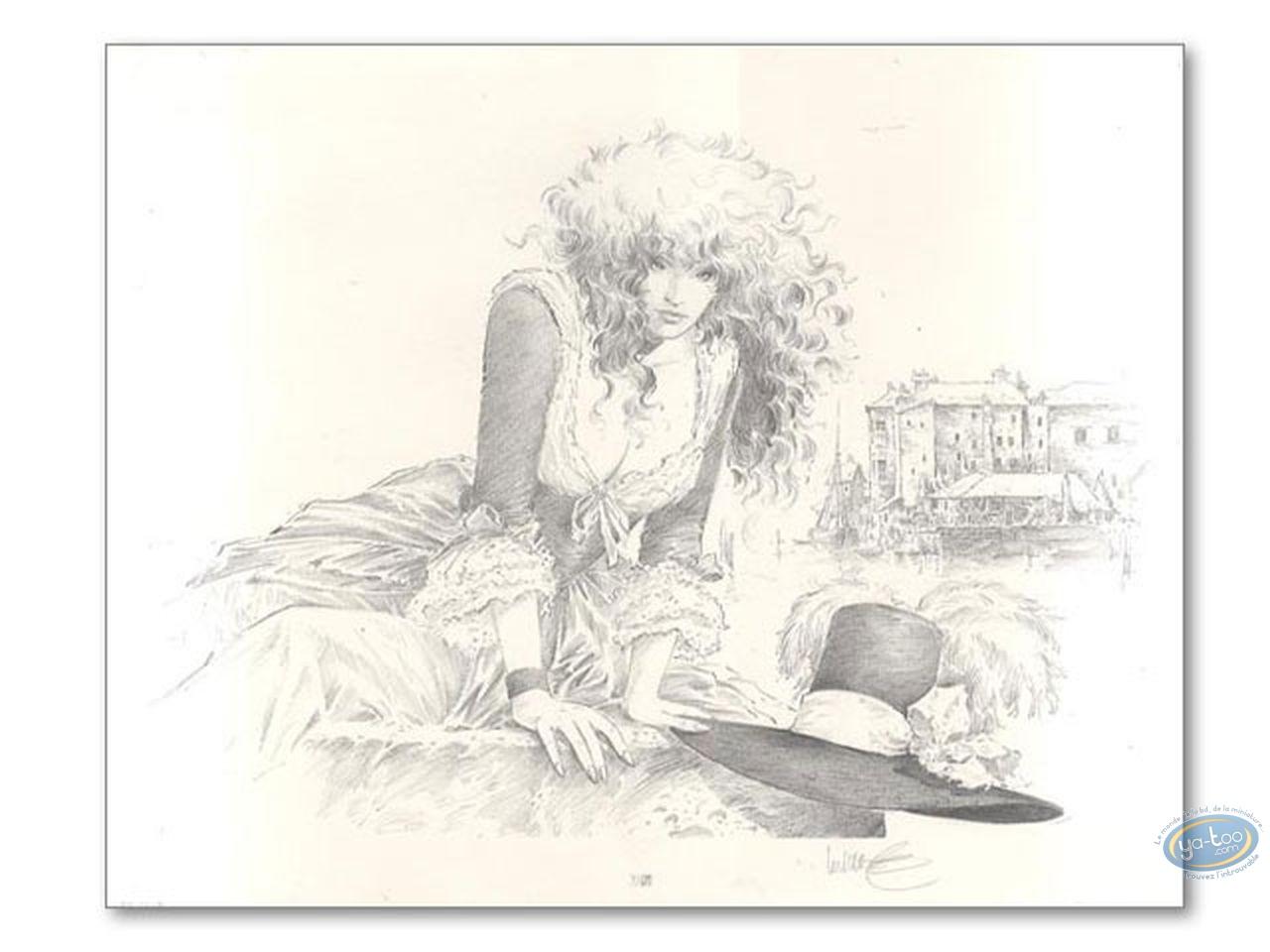 Affiche Offset, XIII : femme