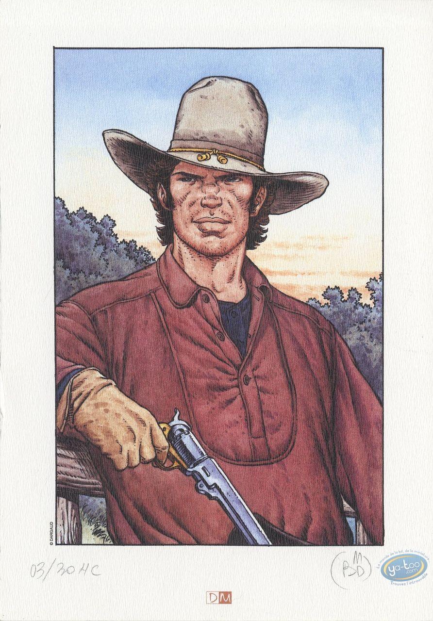 Ex-libris Offset, Jeunesse de Blueberry (La) : Blueberry au pistolet