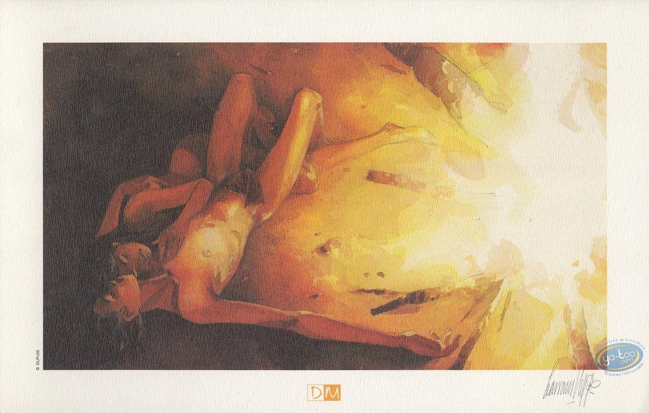 Ex-libris Offset, Terre Sans Mal (La) : Au coin du feu