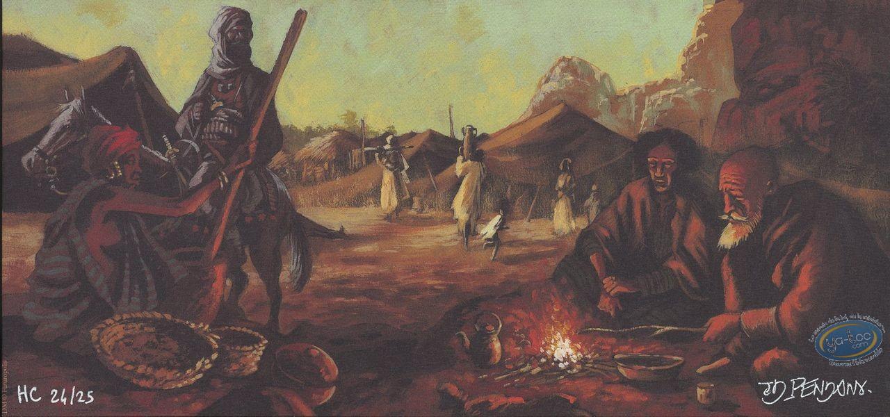 Ex-libris Offset, Abdallahi : Campement