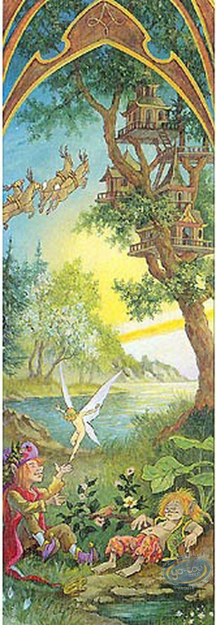 Marque-page offset, 4 Saisons : 4 saisons printemps