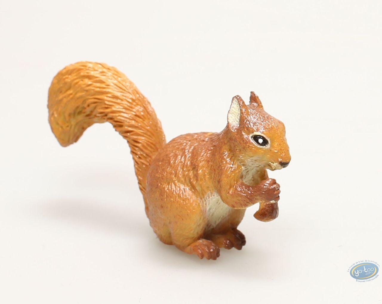 Figurine plastique, Animaux : Écureuil