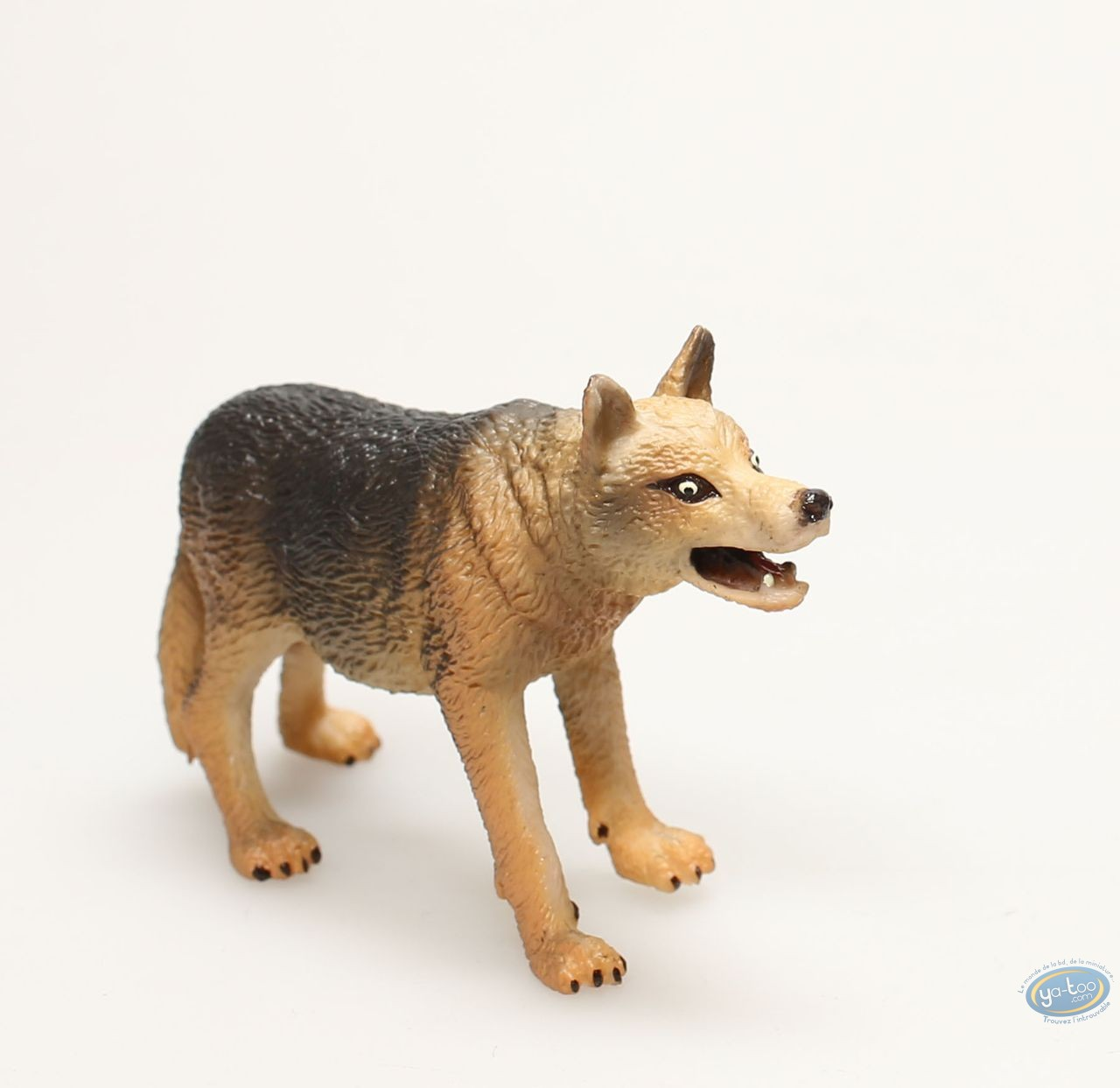 Figurine plastique, Animaux : Loup