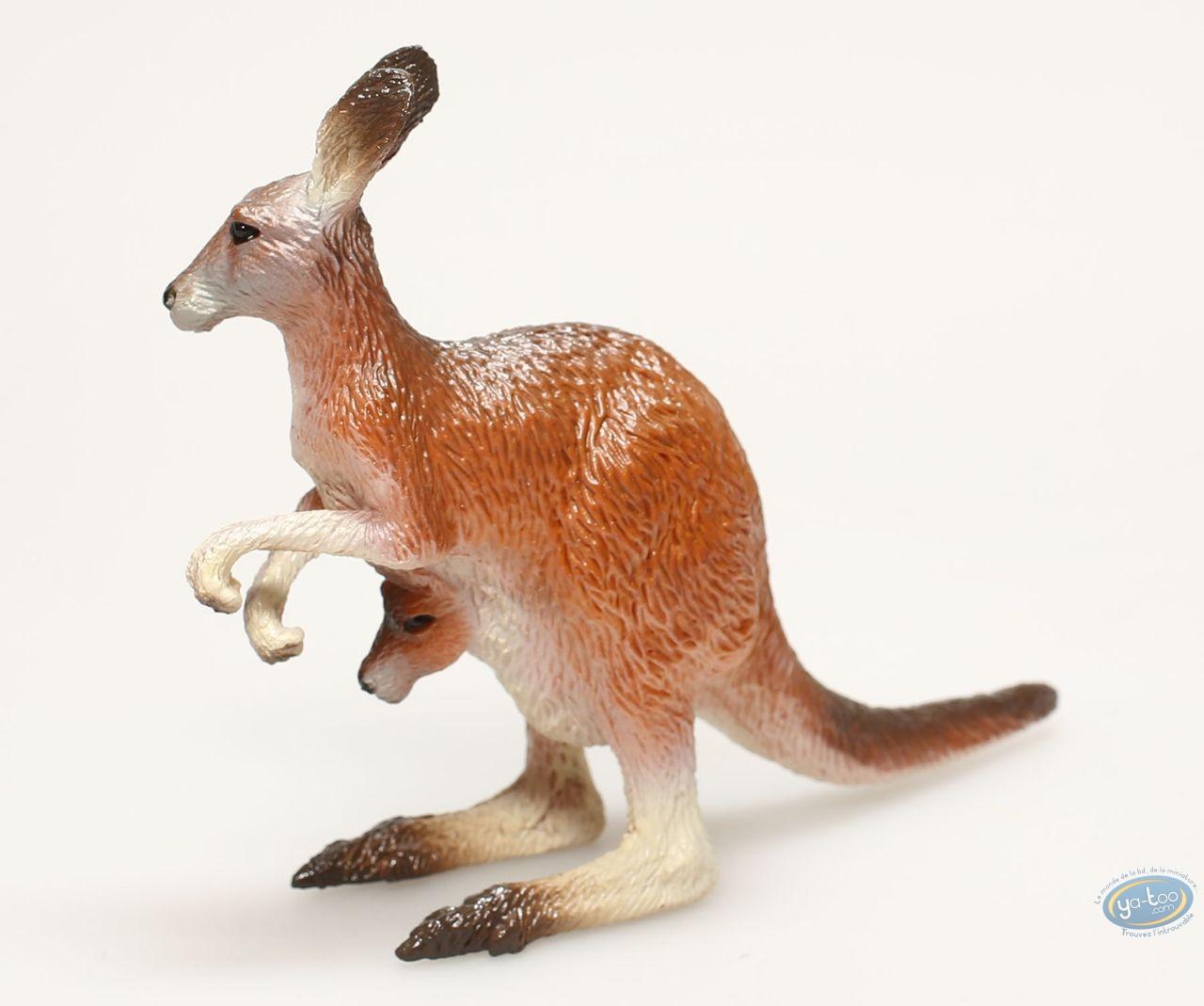 Figurine plastique, Animaux : Kangourou