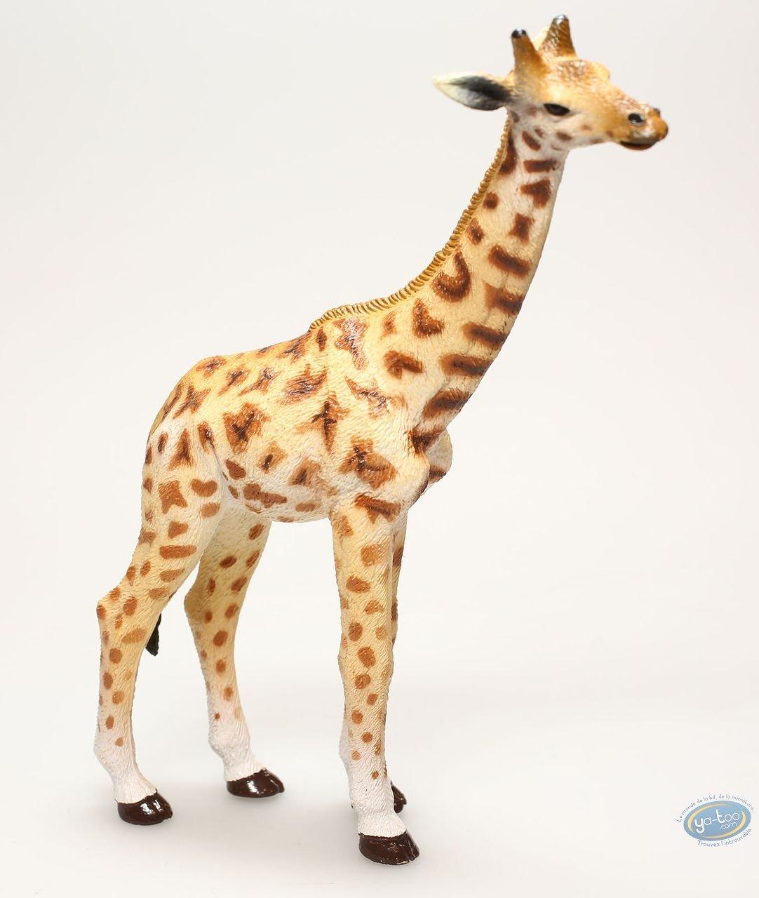 Figurine plastique, Animaux : Girafe