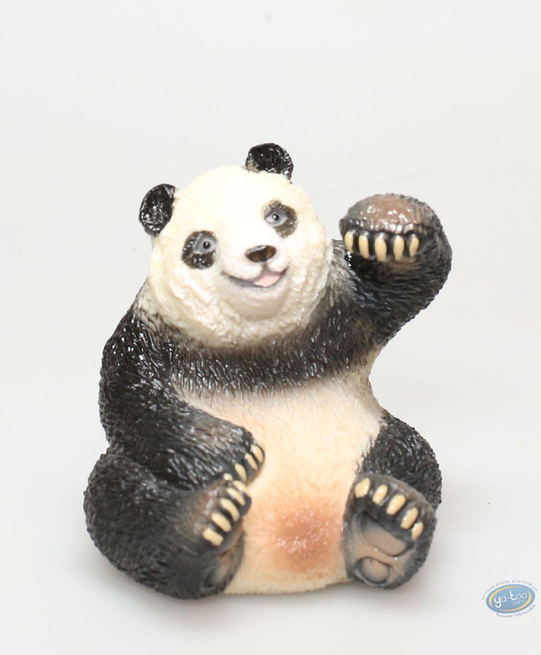 Figurine plastique, Animaux : Panda