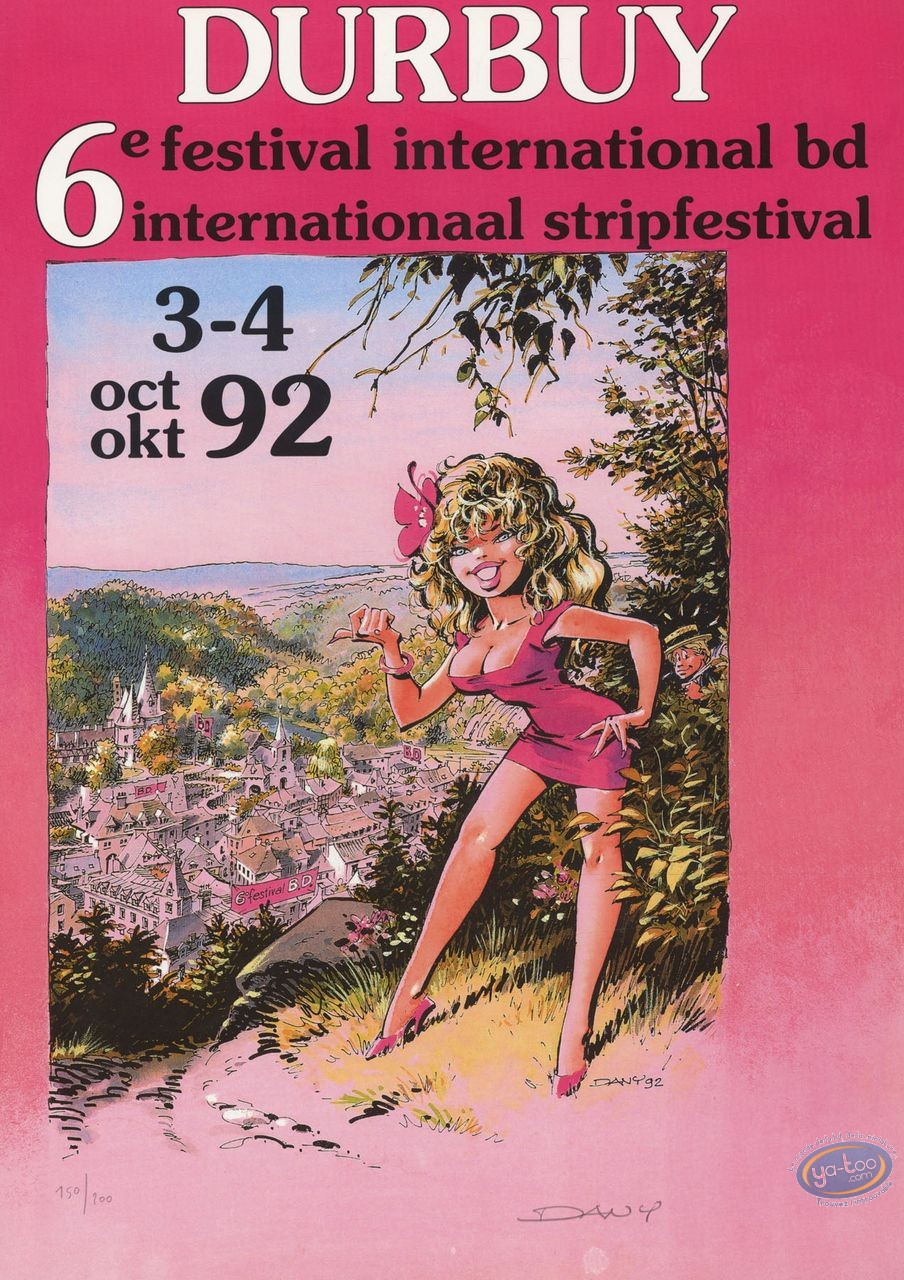 Affiche Offset, Pin-Up : Durbuy 6ème festival bd