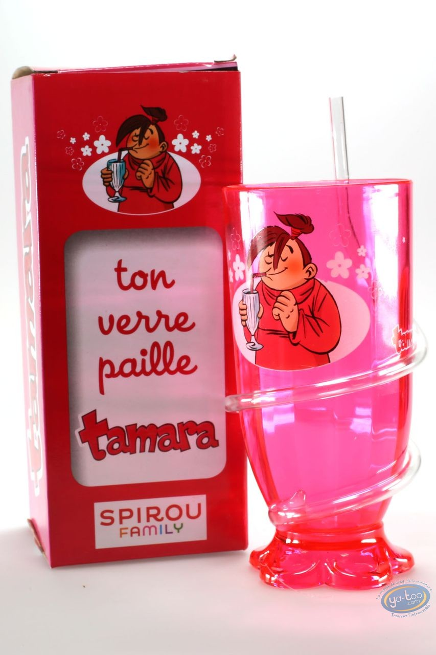 Jouet, Tamara : Ton verre paille
