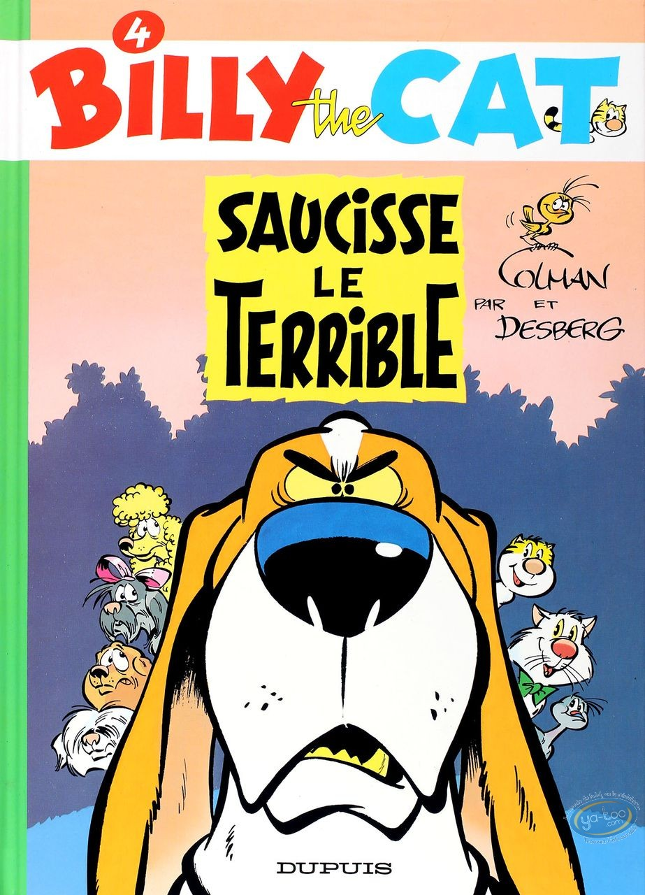 BD occasion, Billy the Cat : Saucisse le terrible