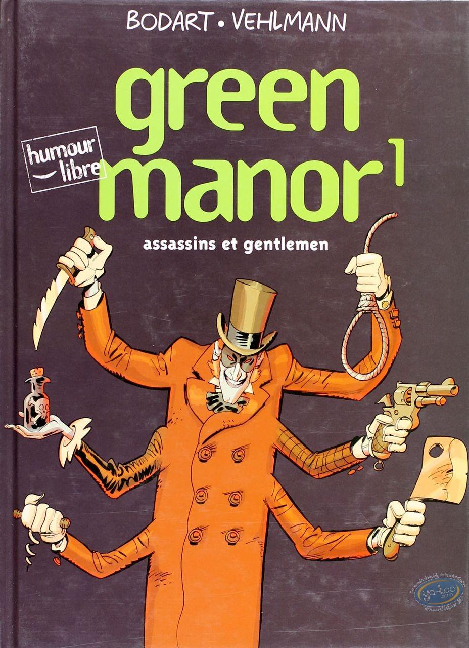 BD cotée, Green Manor : Green Manor, Assassin et gentlemen
