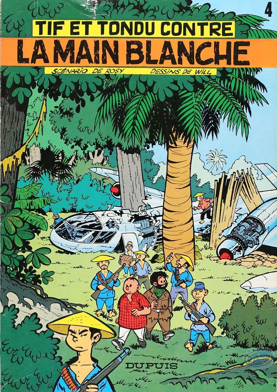 BD cotée, Tif et Tondu : La Main Blanche