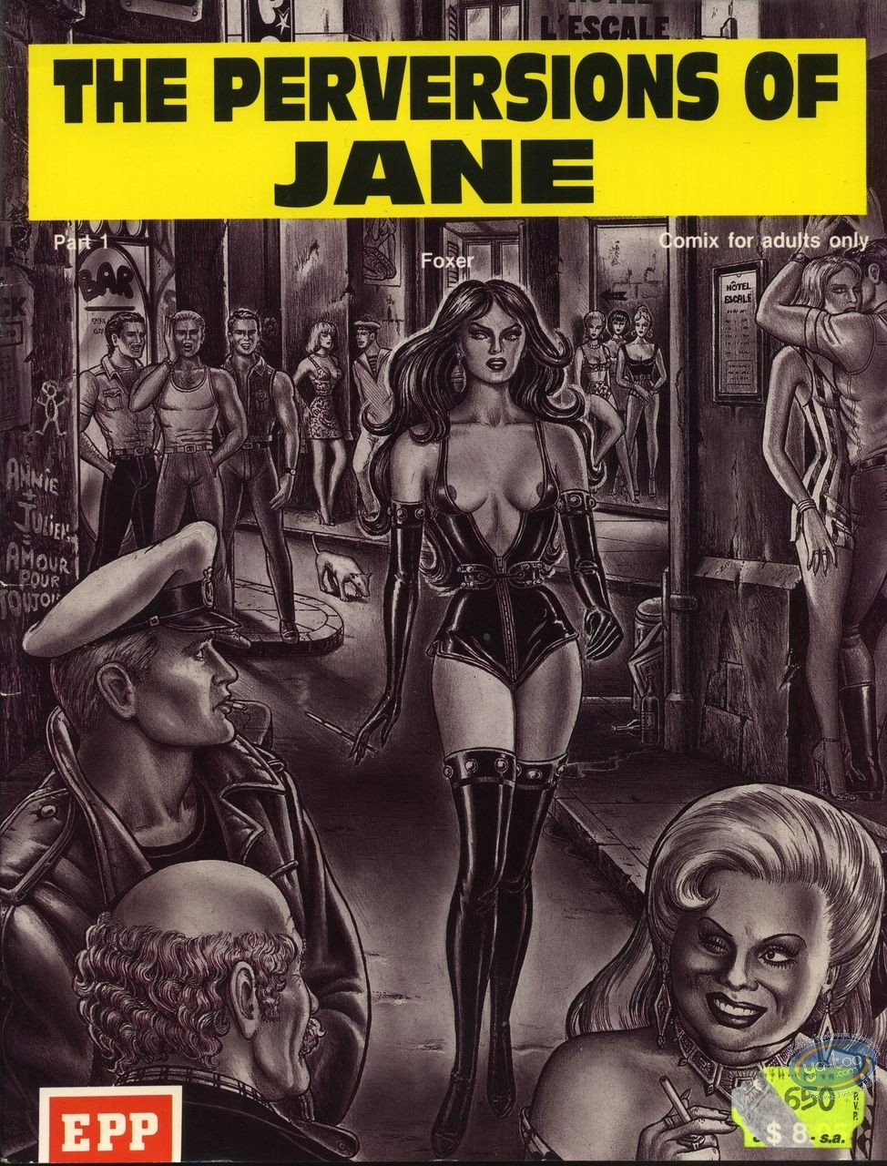 BD adultes, The perversions of Jane (version anglaise)
