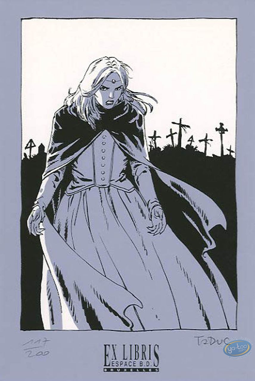 Ex-libris Sérigraphie, Voyages de Takuan (Les) : Vampire