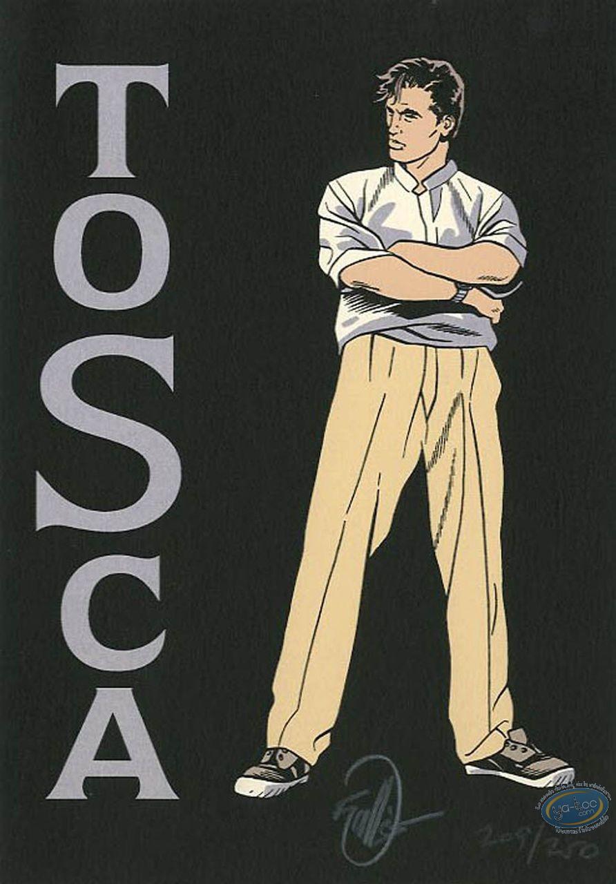 Ex-libris Sérigraphie, Tosca : Vallès, Tosca