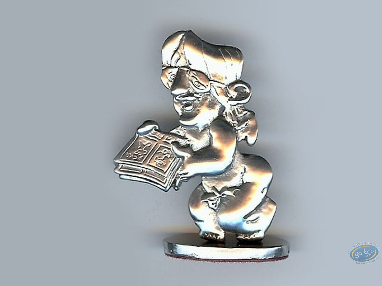 Figurine métal, Cauvin : Raoul Cauvin