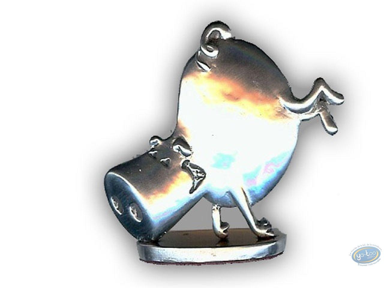Figurine métal, Sondron : Cochon