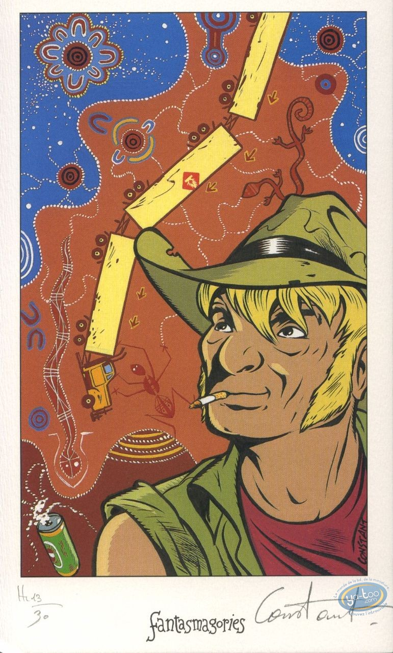 Ex-libris Offset, Bitume : Australie