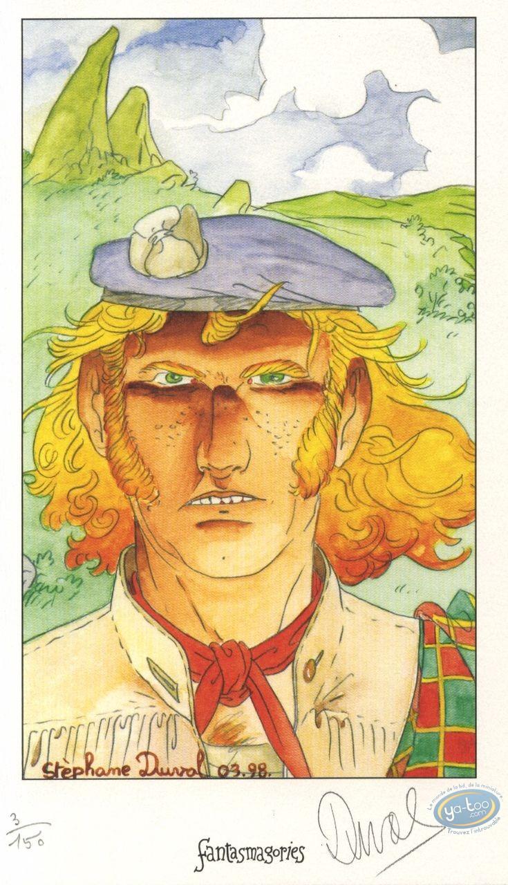 Ex-libris Offset, Red Caps : Ecossais