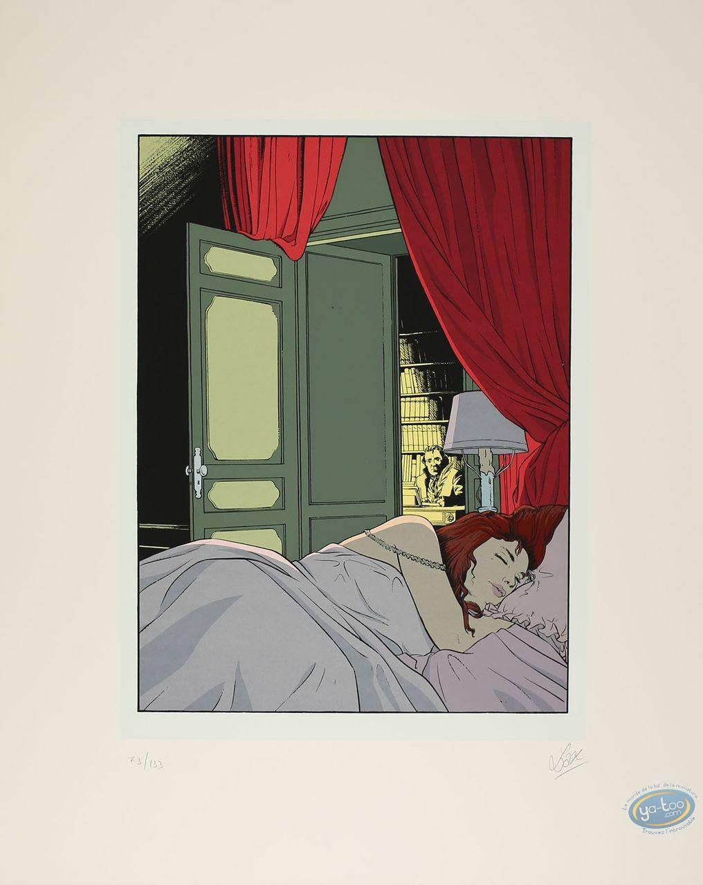 Affiche Sérigraphie, Marquise des Lumières (La) : La marquise des lumières