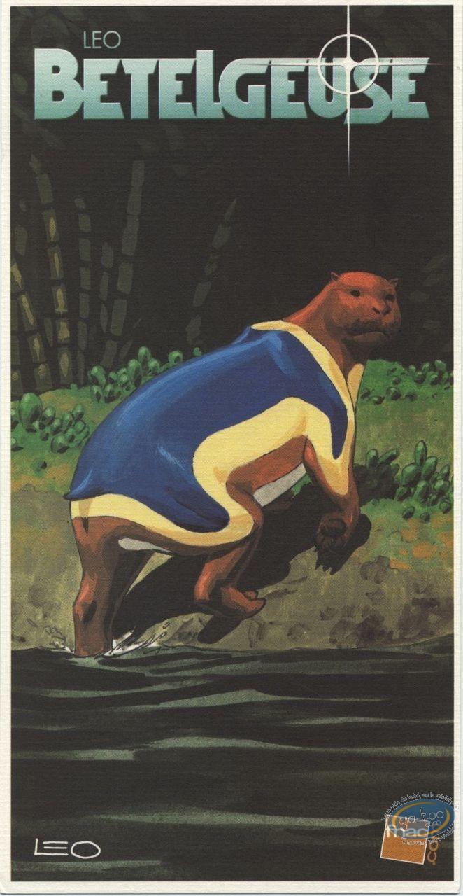 Ex-libris Offset, Bételgeuse : Animal sortant de la rivière