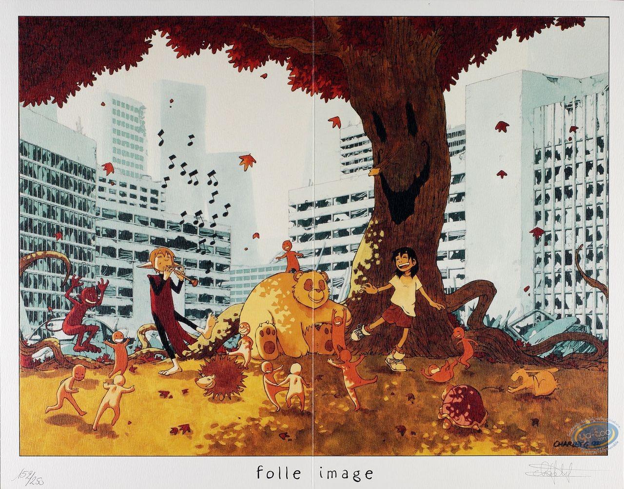 Ex-libris Offset, Kabbale : Enfants jouant