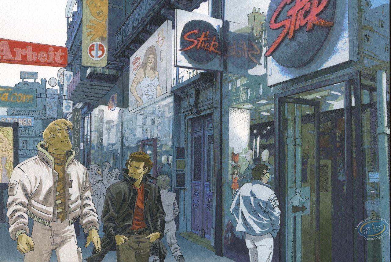 Ex-libris Offset, Phenomenum : Scène de rue