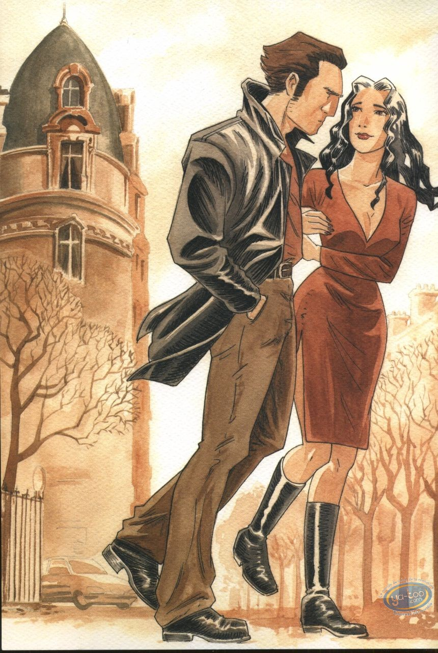 Ex-libris Offset, Phenomenum : Couple marchant