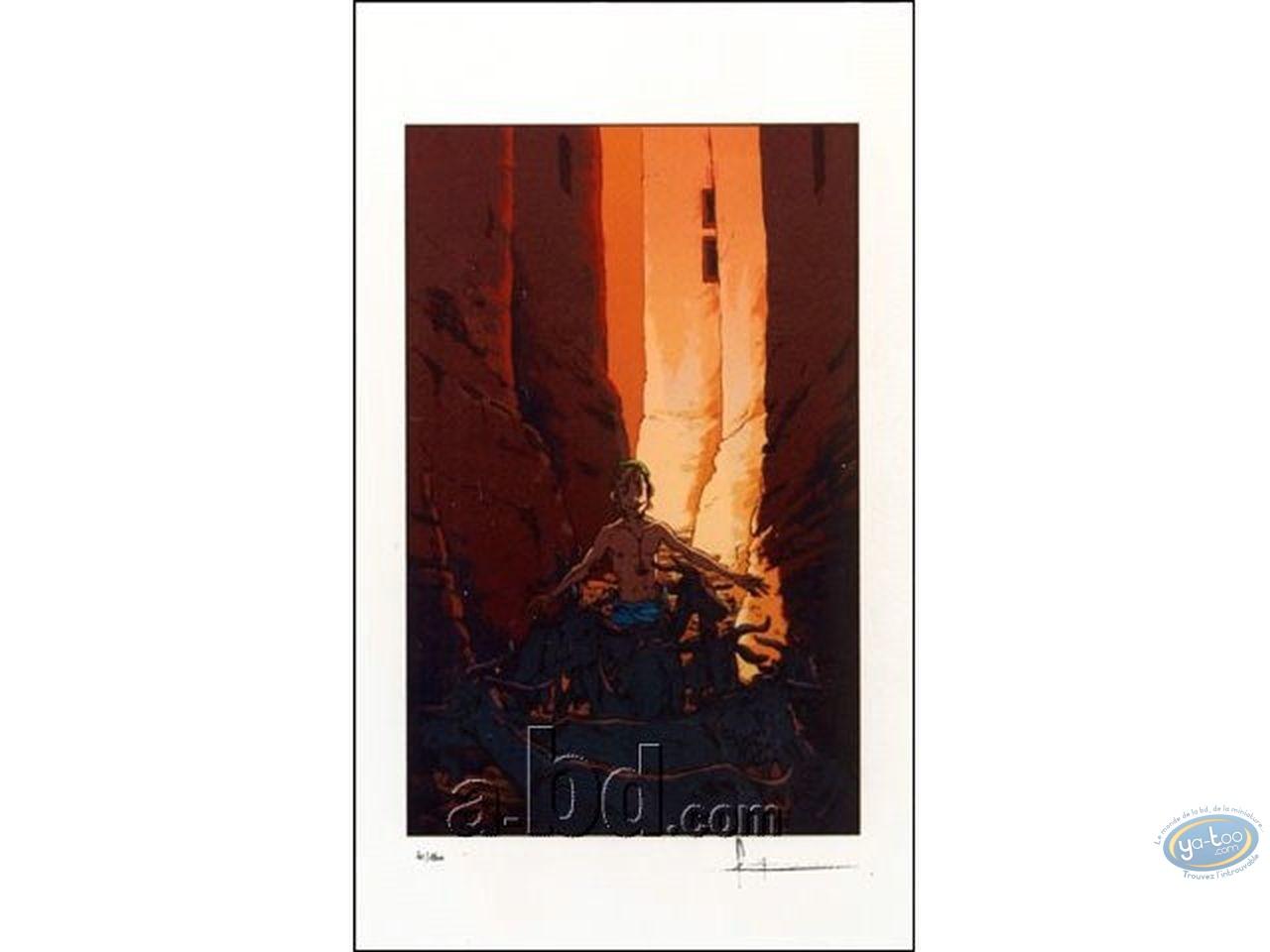 Affiche Sérigraphie, Max : Berger