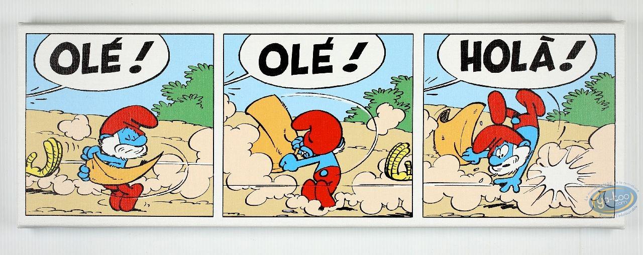 Impression sur toile, Schtroumpfs (Les) : Olé