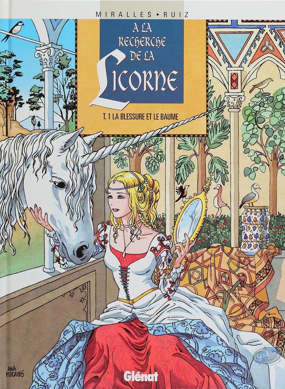 BD cotée, Recherche de la Licorne (A la) : Recherche de la Licorne, La Blessure et le Baume