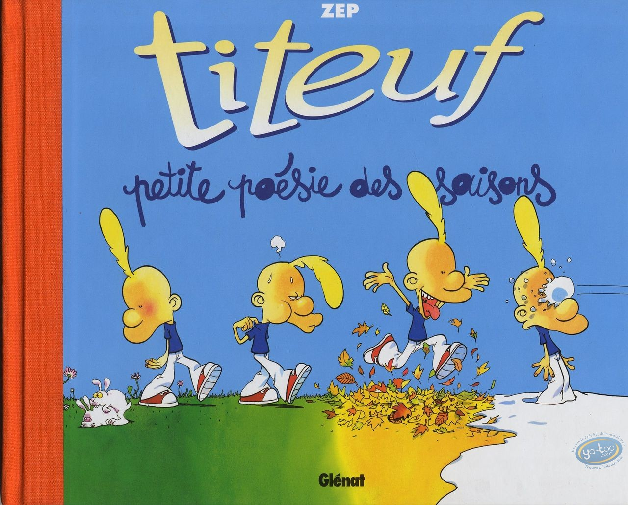 BD occasion, Titeuf : Petite poésie des saisons