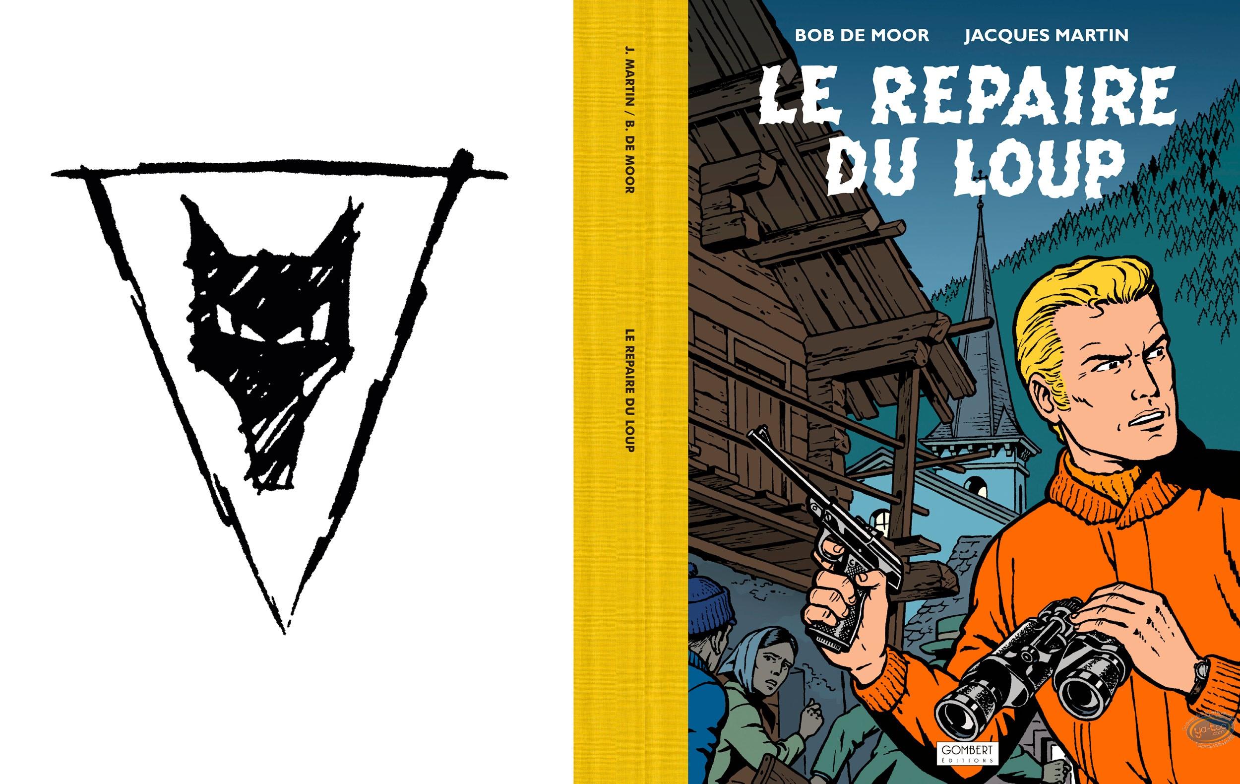 Album de Luxe, Lefranc : Le repaire du loup