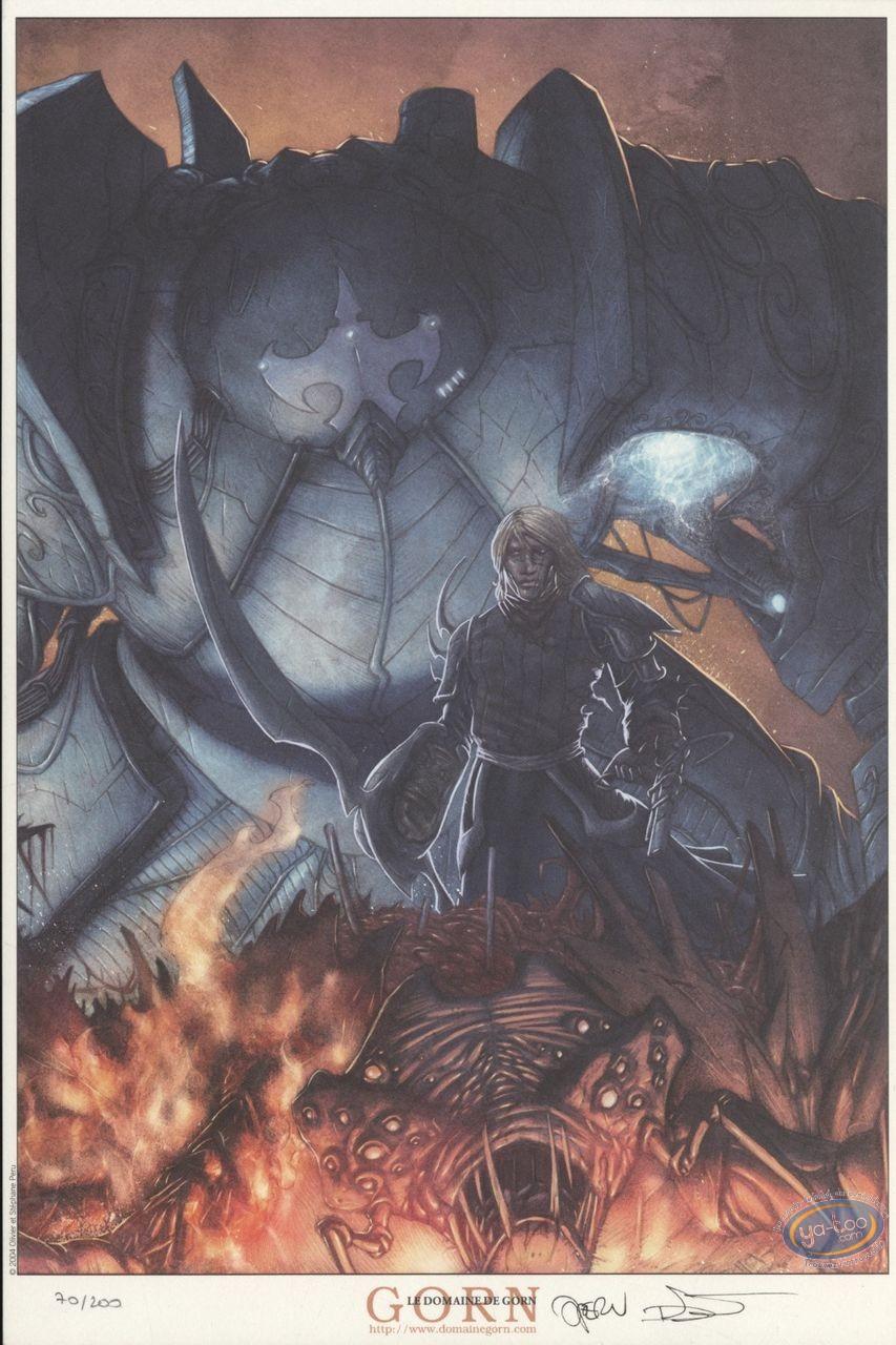 Ex-libris Offset, Zak Blackhole : Combat