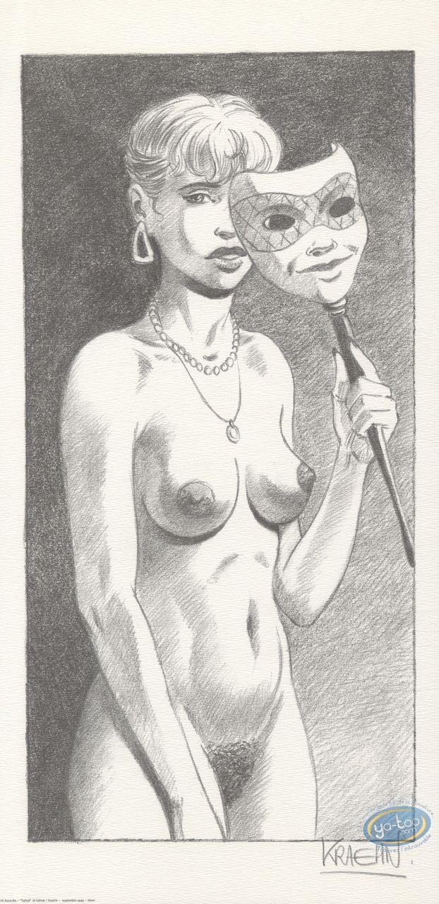 Affiche Offset, Gil Saint André : Sylvia