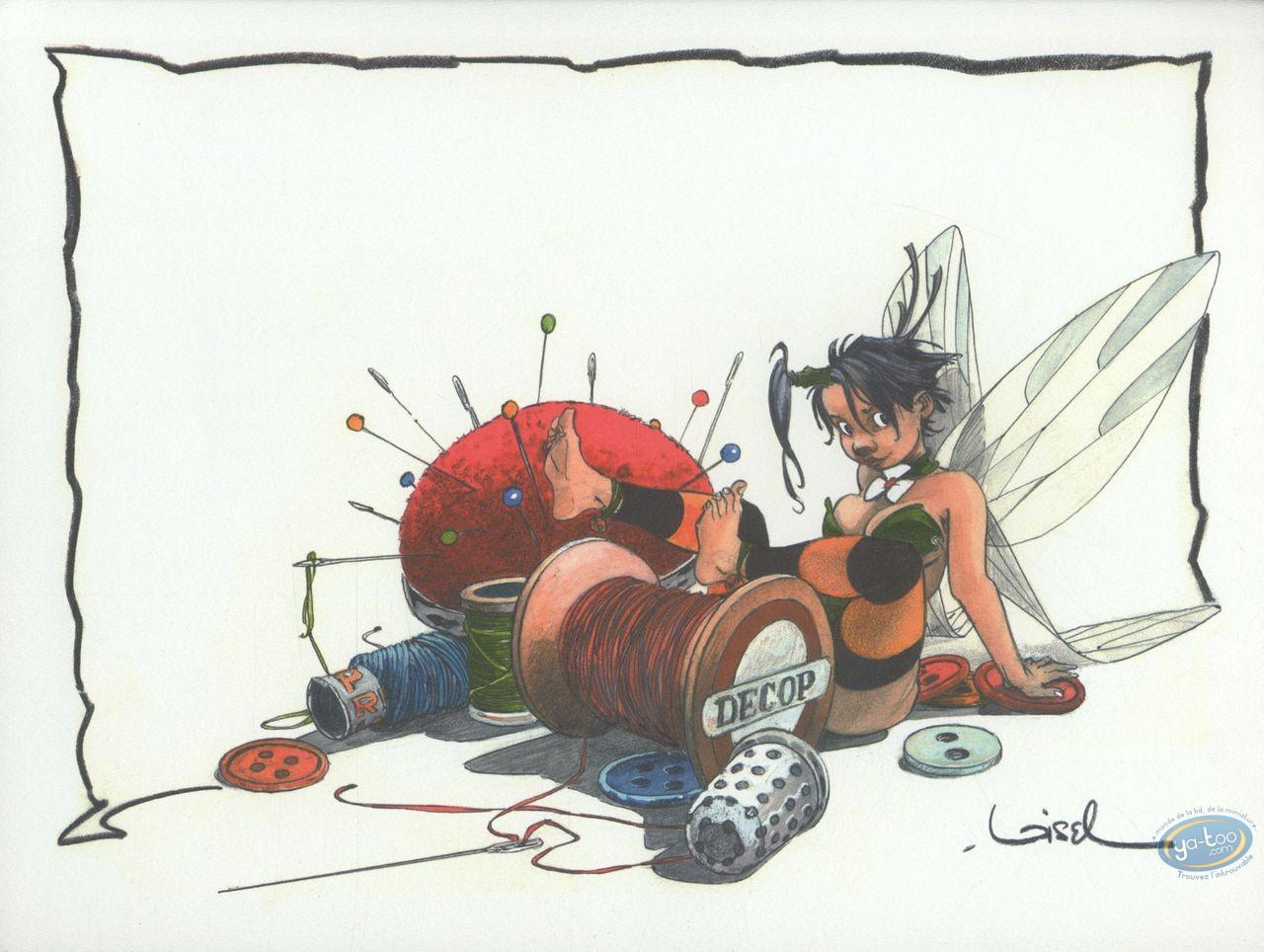 Affiche Offset, Peter Pan : Fil à coudre