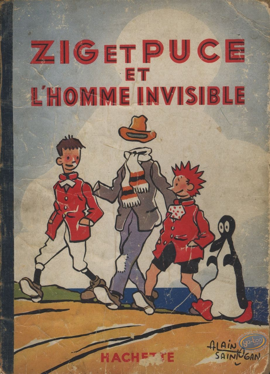 BD cotée, Zig et Puce : Zig et Puce, Zig et Puce et l'Homme Invisible