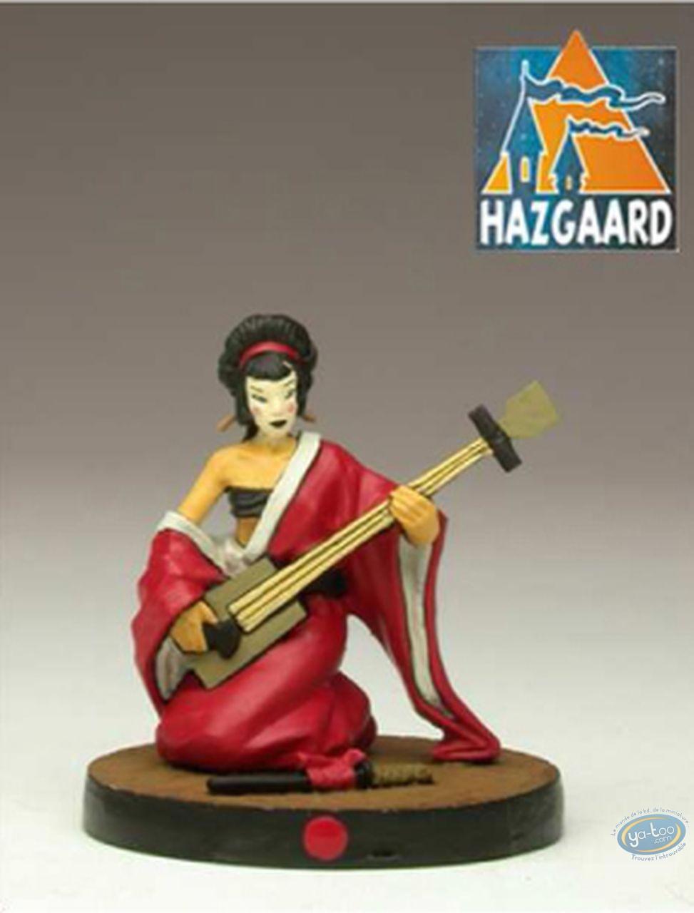 Figurine métal, Okko : Geisha