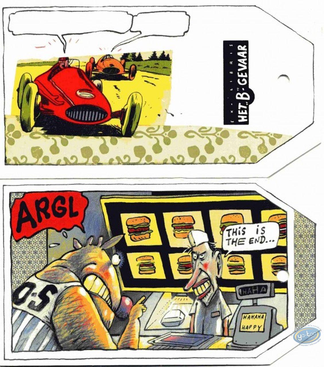 Ex-libris Offset, Vache (La) : Hamburger