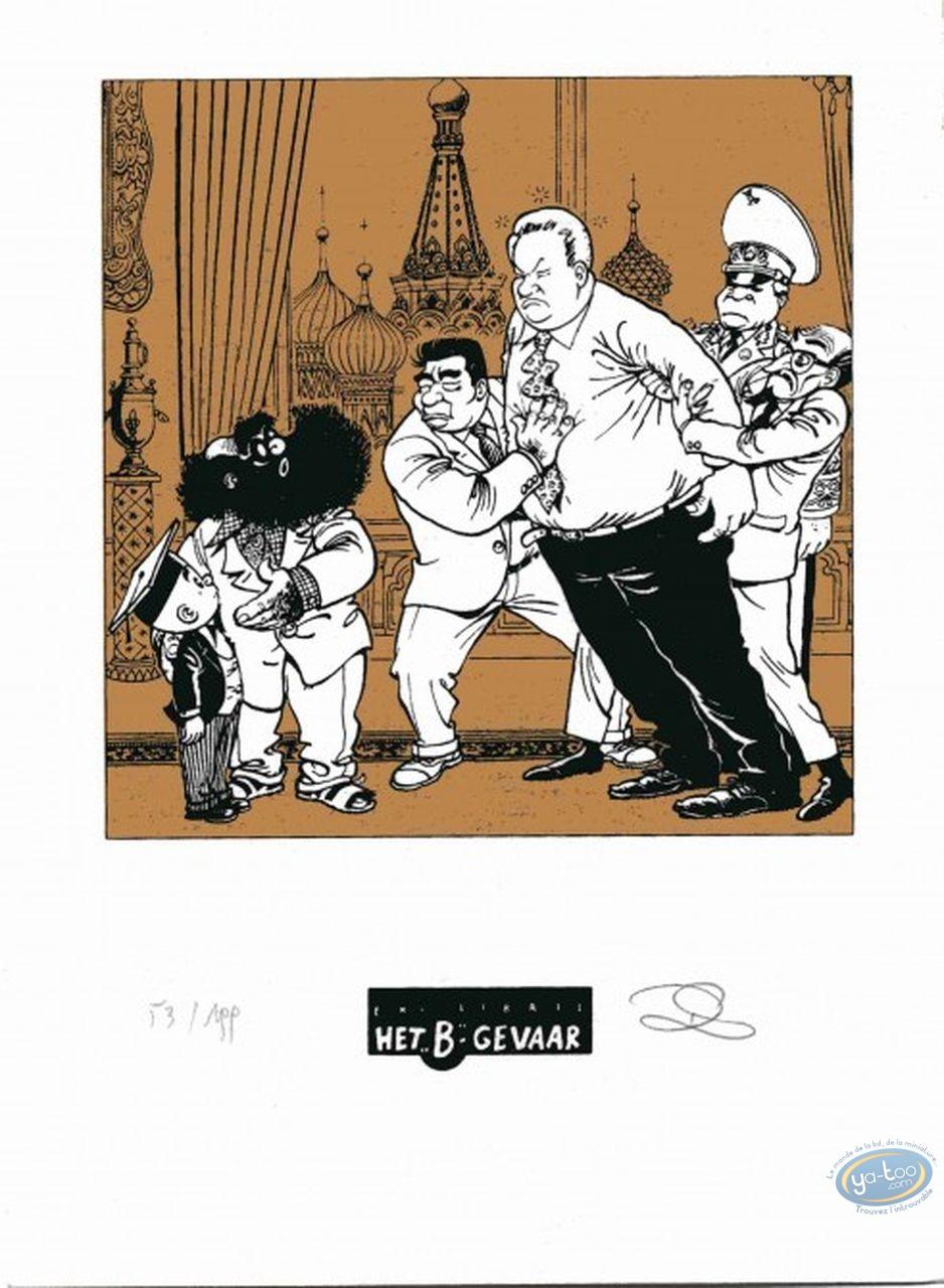 Ex-libris Sérigraphie, Néron : Eltsine