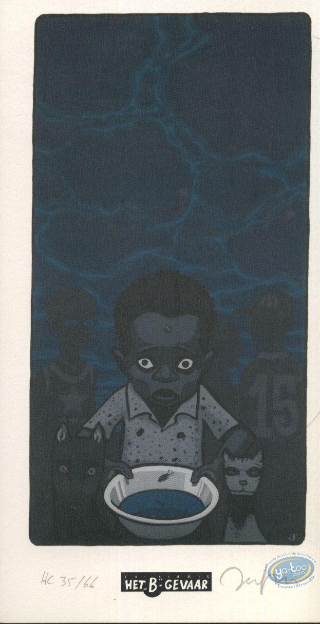 Ex-libris Offset, Enfants (Les) : Gamelle