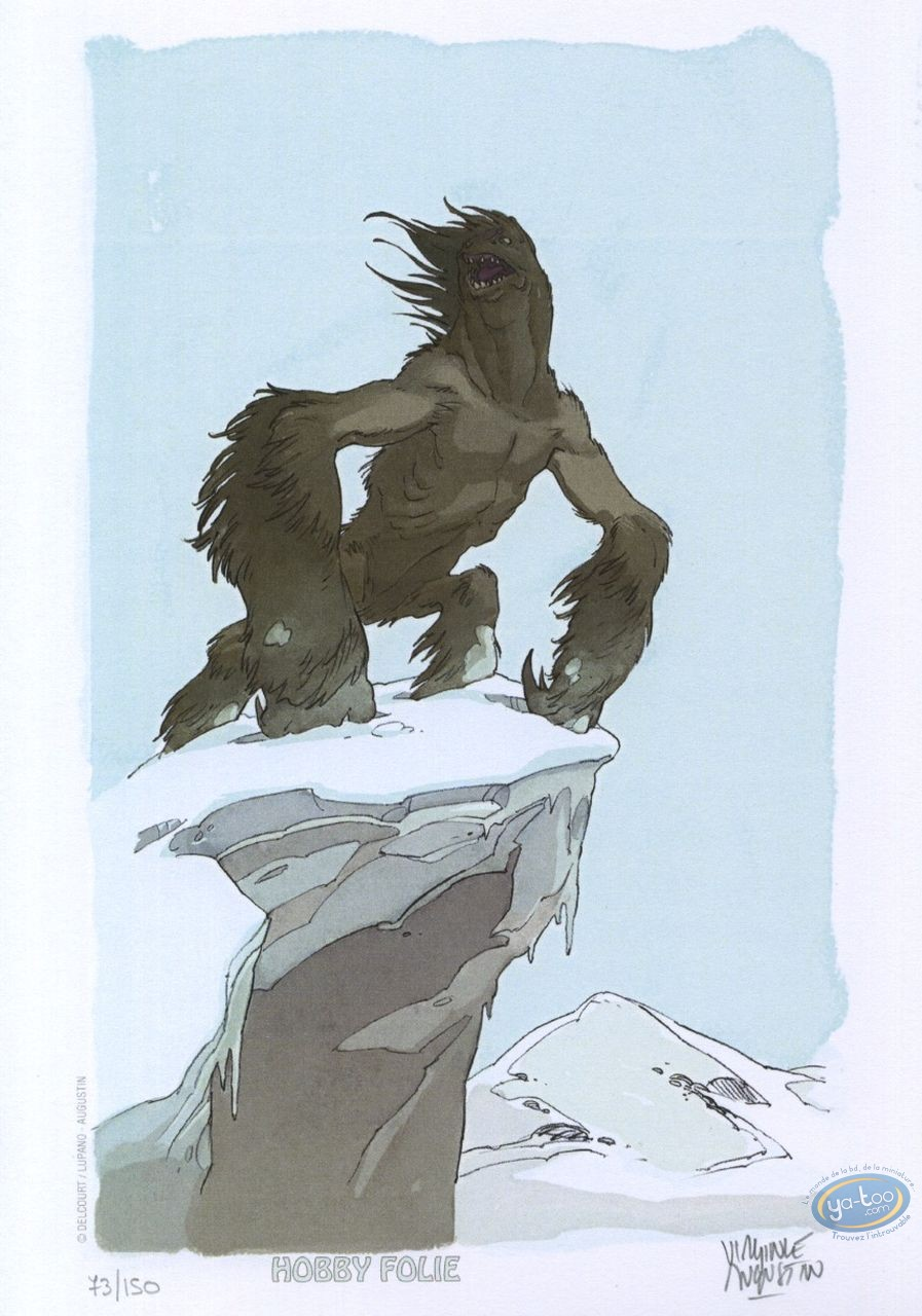Ex-libris Offset, Alim le Tanneur : Monstre des neiges