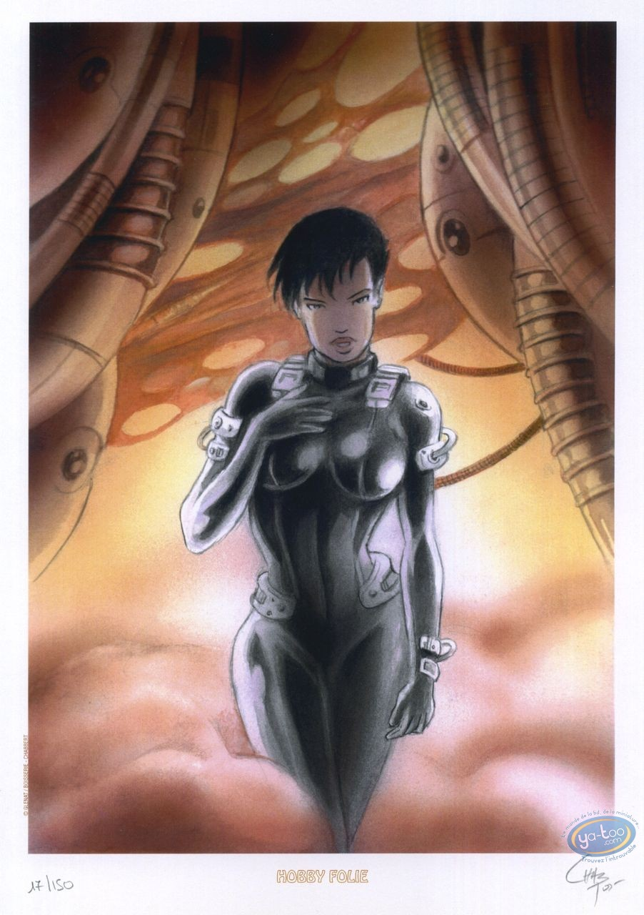 Ex-libris Offset, Nova Genesis : Femme